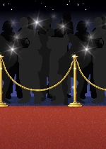 Decorado de pared Hollywood Red Carpet Room Scene Setters - 4 Rolls