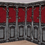 2 Decoracion escena de pared Rolls Gothic Mansion 6 x 1.2 m