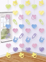 Decoracion Colgante Baby Shower String Decoration