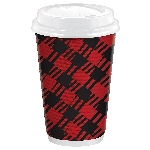 Vaso Cosy Holiday Double Walled Paper Cups 473ml