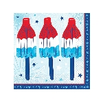 Servilletas Celebrate USA BeverEdad Napkins 25cm
