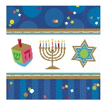 Servilletas medianas Hanukkah Celebrations eon 33cm