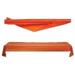 Mantel Rollo Plast. 1M X 30.5M Naranja