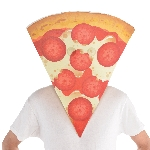 Disfraz Acc Pizza Slice Masks