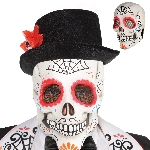 Disfraz Acc Sugar Skull Full Head Masks