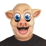 Disfraz Acc Pig Full Head Masks