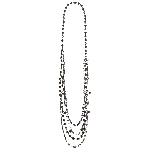 Disfraz Acc Sea Siren Faux Pearl Necklaces
