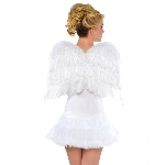 Acc. Disfraz Adulto White Feather Alas 56cm