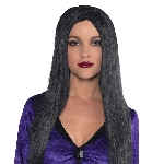 Disfraz Acc Adulto Black Witch Wigs