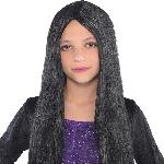 Disfraz Acc Niñoren Black Witch Wigs