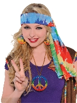 60`s Hippie Headscarf