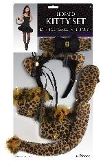 Leopard Kitty Set - adult