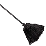 Witch Tinsel Broom