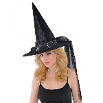 Disfraz Acc FANCY WITCH HAT