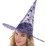 Disfraz Acc Adulto Classic Purple Witch Hats