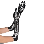Disfraz Acc Adulto Black & Bone Skeletons Long Gloves