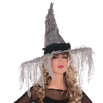 Disfraz Acc Adulto Tattered Witch Hats