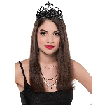 Disfraz Acc Adulto Black Fantasy Crowns