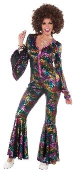 Women`s Disco Bodysuit