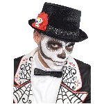Disfraz Acc Adulto Day Of The Dead Men's Top Hats