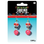 Disfraz Acc Adulto Day of the Dead Earrings