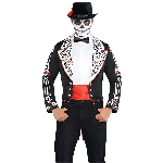 Disfraz Adulto Day Of The Dead Tailcoat Talla Adulto