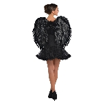 Disfraz Acc Adulto Dark Angel Deluxe Feather Wings