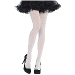 Disfraz Acc White Tights - Talla Standard