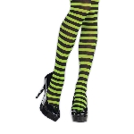 green/Negro tights adult