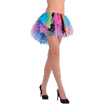 Disfraz Acc Totally 80s Rainbow Neon Tutu Adulto