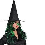 Disfraz Acc Green Witch Adulto Nose