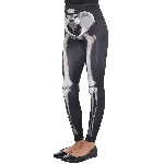 Disfraz Acc Black & Bone Leggings - Standard Niño Talla