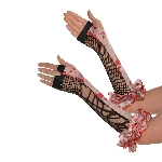 Disfraz Acc Halloween Circus Adulto Fingerless Gloves