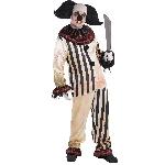 Disfraz Adulto Halloween Circus Freakshow Clown Adult Suit