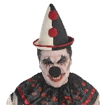 Disfraz Acc Halloween Circus French Clown Hats - Talla Adulto