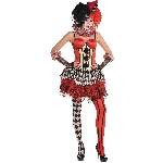 Disfraz Acc Halloween Circus Clown Corset - Talla Small/Medium
