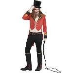 Disfraz Acc Halloween Circus Men's Ringmaster Adult Tailcoat