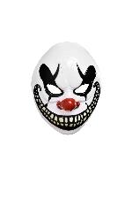 Disfraz Acc Halloween Circus Freakshow Clown Adulto Mask