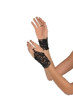 Negro Lace Glovettes