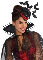 Disfraz Acc Vampire Clip-on Hats - Talla Adulto