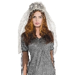 Disfraz Acc Ghost Bride Headbands - Talla Adulto
