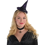Disfraz Acc Witch Hat Headbands - Talla Adulto