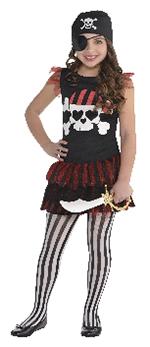Pirate T-Shirt Dress- Girls