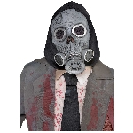 Disfraz Acc Latex Zombie Gas Mask - Talla Adulto