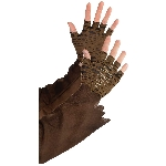 Disfraz Acc Witch Doctor Cropped Fingerless Gloves