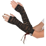 Disfraz Acc Witch Doctor Fingerless Gloves