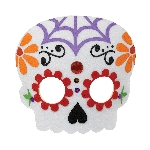 Disfraz Acc Day of the Dead Felt Masks