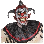Disfraz Acc Killer Jester Latex Masks - Talla Adulto