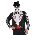 Disfraz Acc Day Of The Dead Tailcoats - Plus Talla