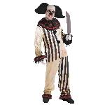 Disfraz Adulto Halloween Circus Freakshow Clown Plus Talla